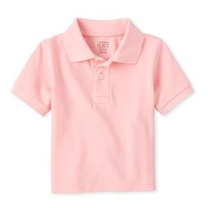 NWT Children's Place Pink Polo Top Shirt 18-24mo